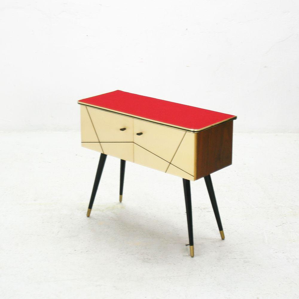 kleine vintage kommode aus ahorn nussholz bei pamono kaufen. Black Bedroom Furniture Sets. Home Design Ideas