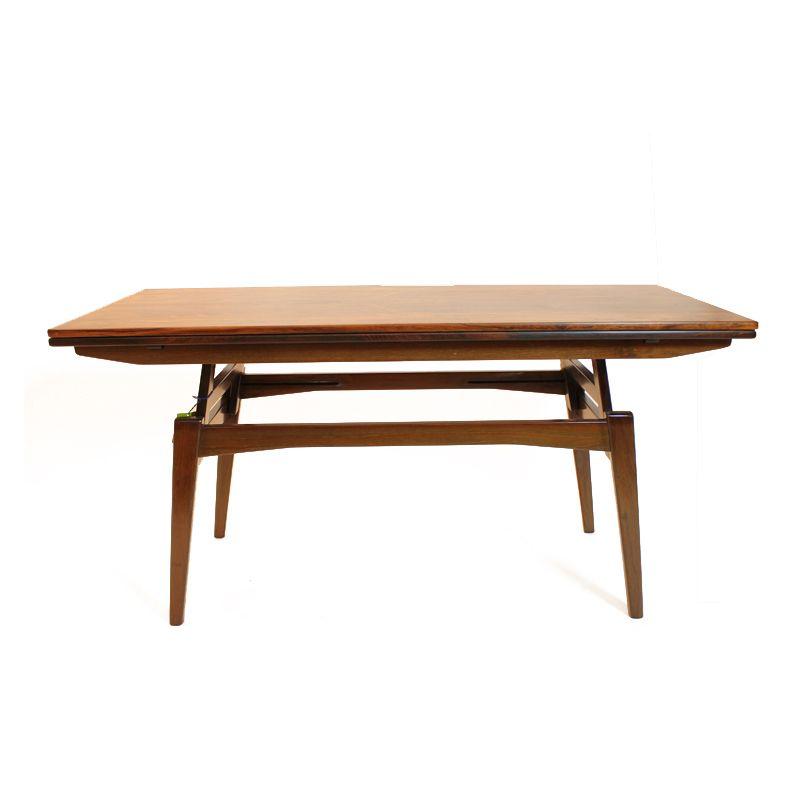 d nischer couch und esstisch 1960er bei pamono kaufen. Black Bedroom Furniture Sets. Home Design Ideas