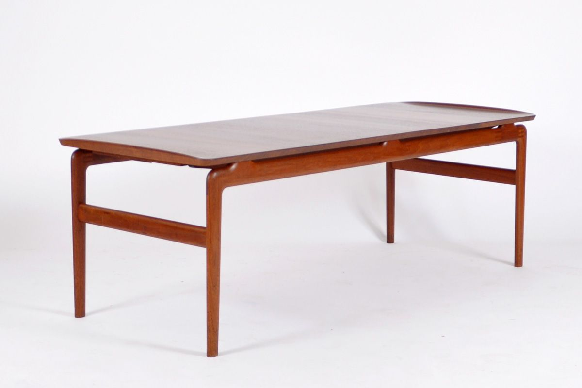Teak Coffee Table By Hvidt U0026 Mølgaard For France U0026 Son, 1958