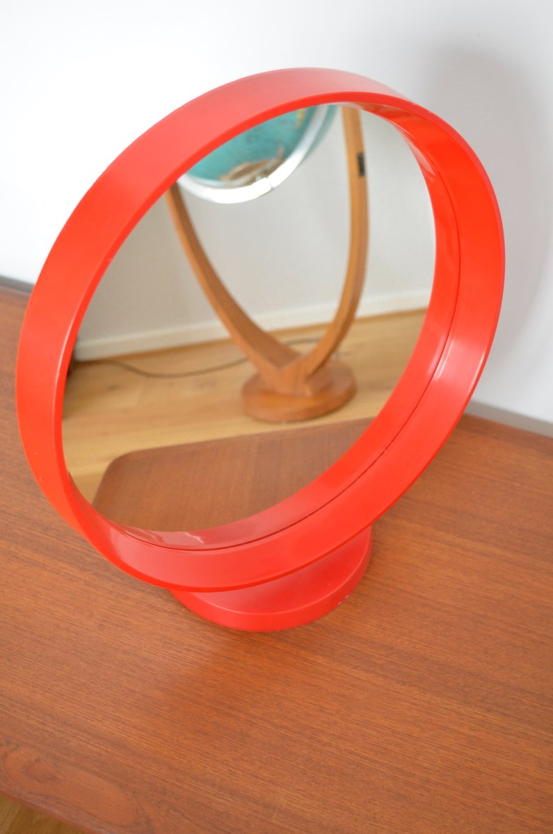 German Plastic Table Mirror 1970s for sale at Pamono