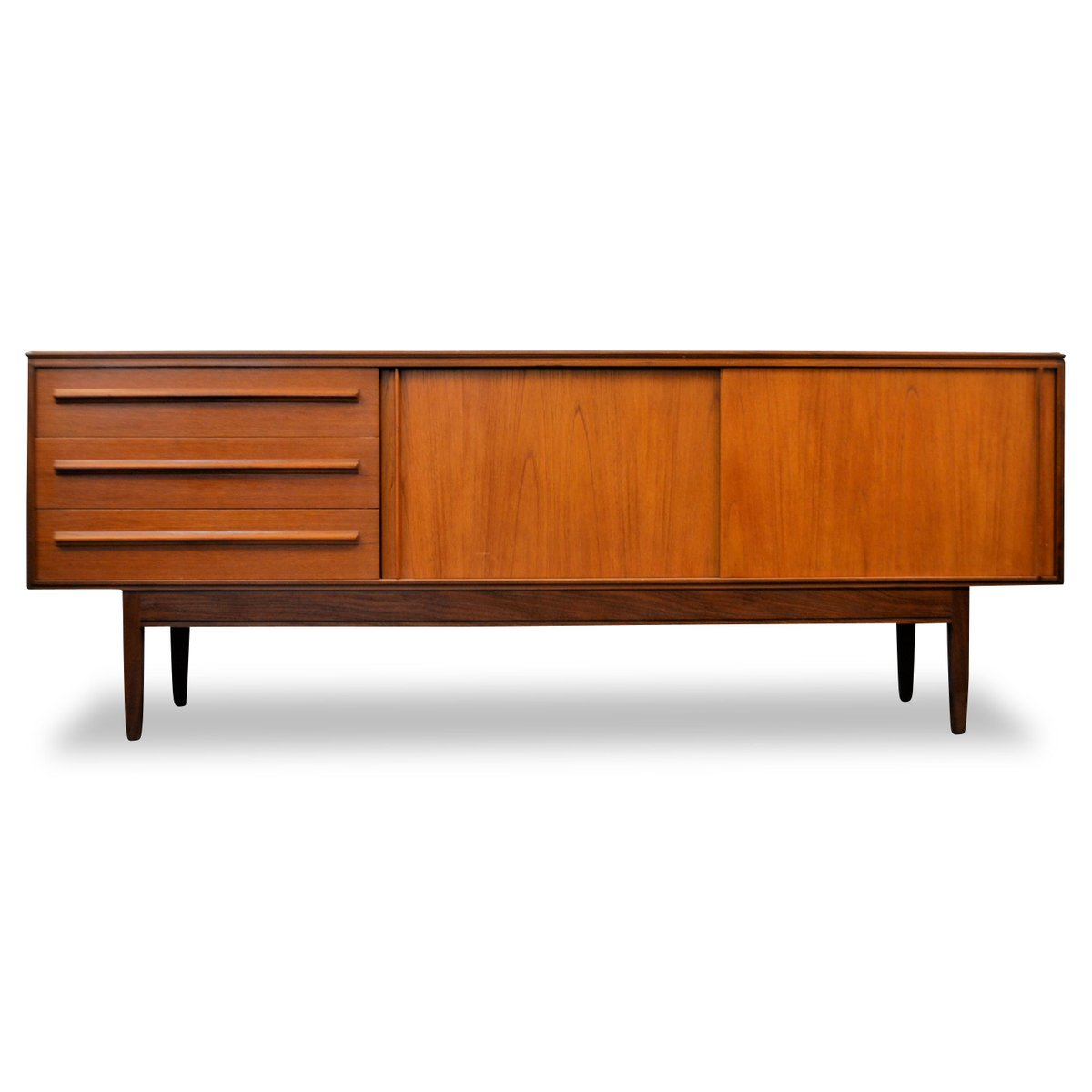 mid century teak sideboard from white newton for sale at. Black Bedroom Furniture Sets. Home Design Ideas