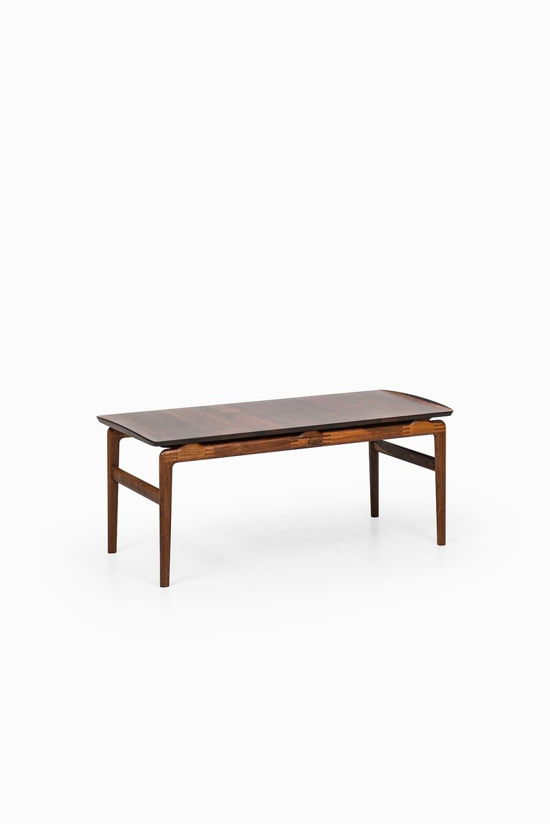 Rosewood Coffee Table By Peter Hvidt Orla M Lgaard Nielsen For France S N 1957 For Sale At