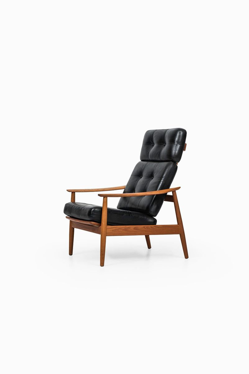 Easy chair recliner - Reclining Fd 164 Easy Chair By Arne Vodder For Cado 1960s