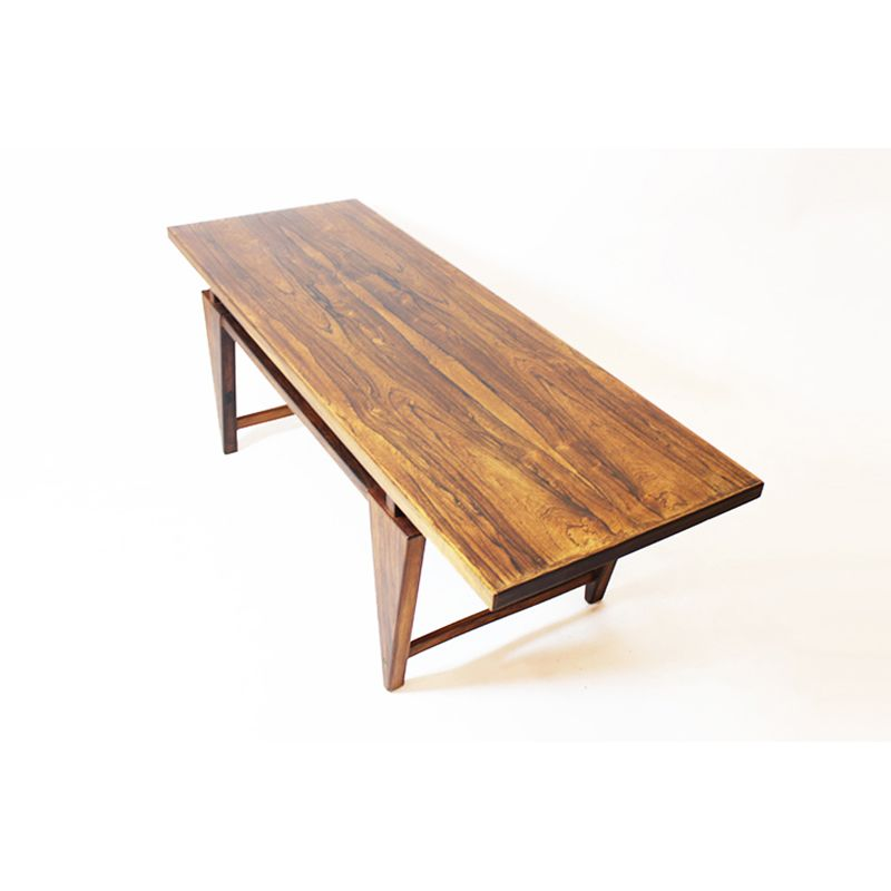 Amazing Mid Century Vintage Danish Rosewood Coffee Table, 1960s