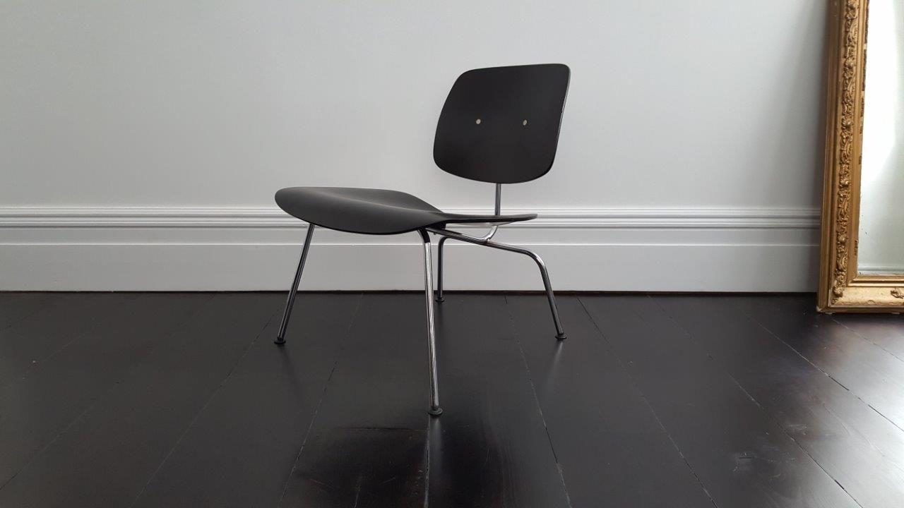 mid century lcm recliner stuhl von charles ray eames f r. Black Bedroom Furniture Sets. Home Design Ideas