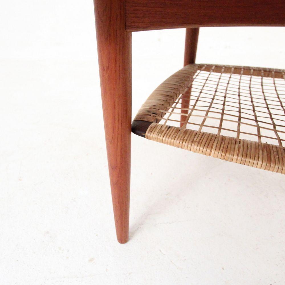 Round Teak Coffee Table: Danish Round Teak Coffee Table For Sale At Pamono
