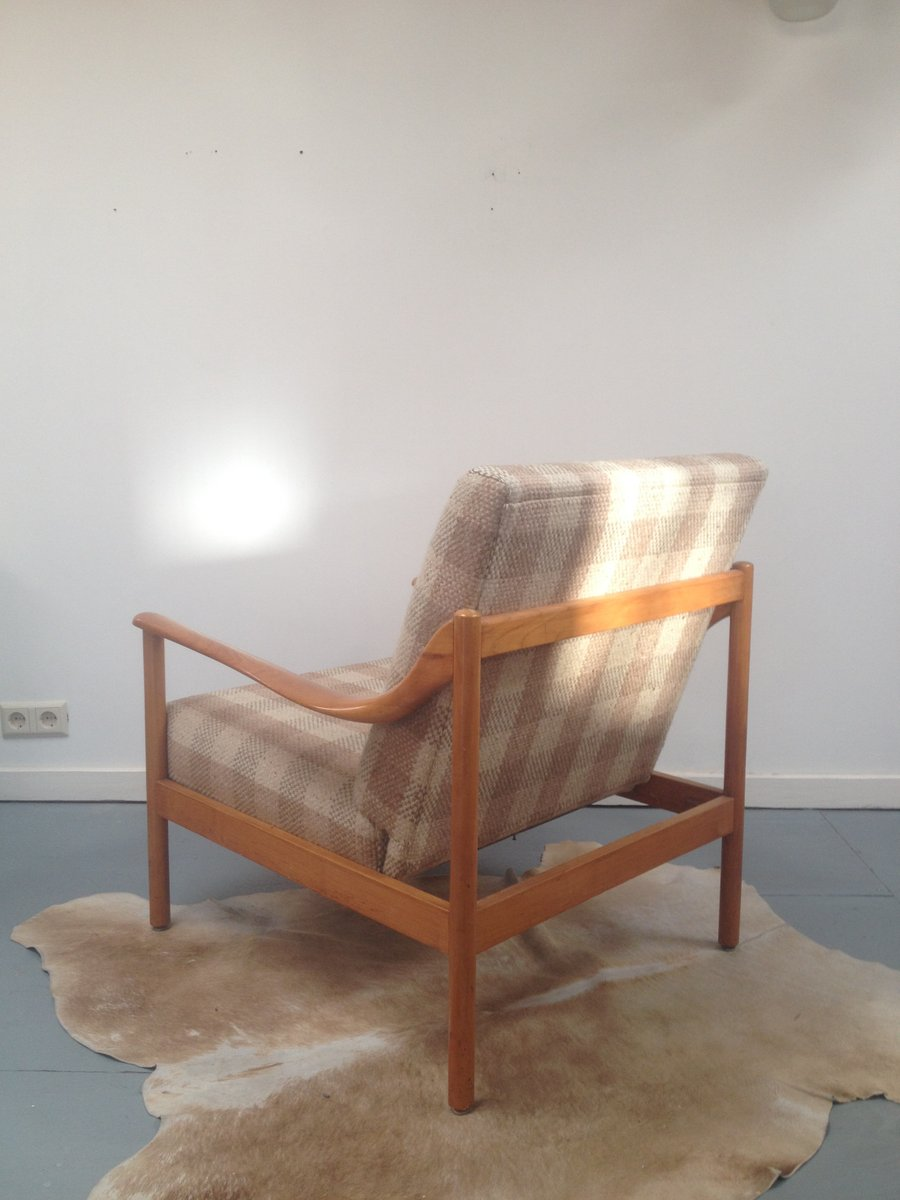 Mid century danish reclining beech easy chair for sale at for Z chair mid century