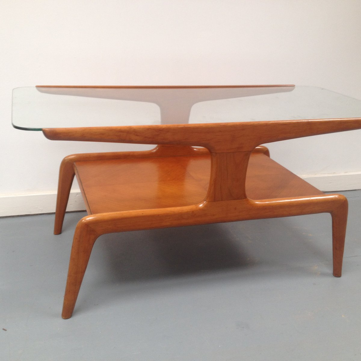Vintage Italian Coffee Table By Gio Pointi For Domus Nova For Sale At Pamono