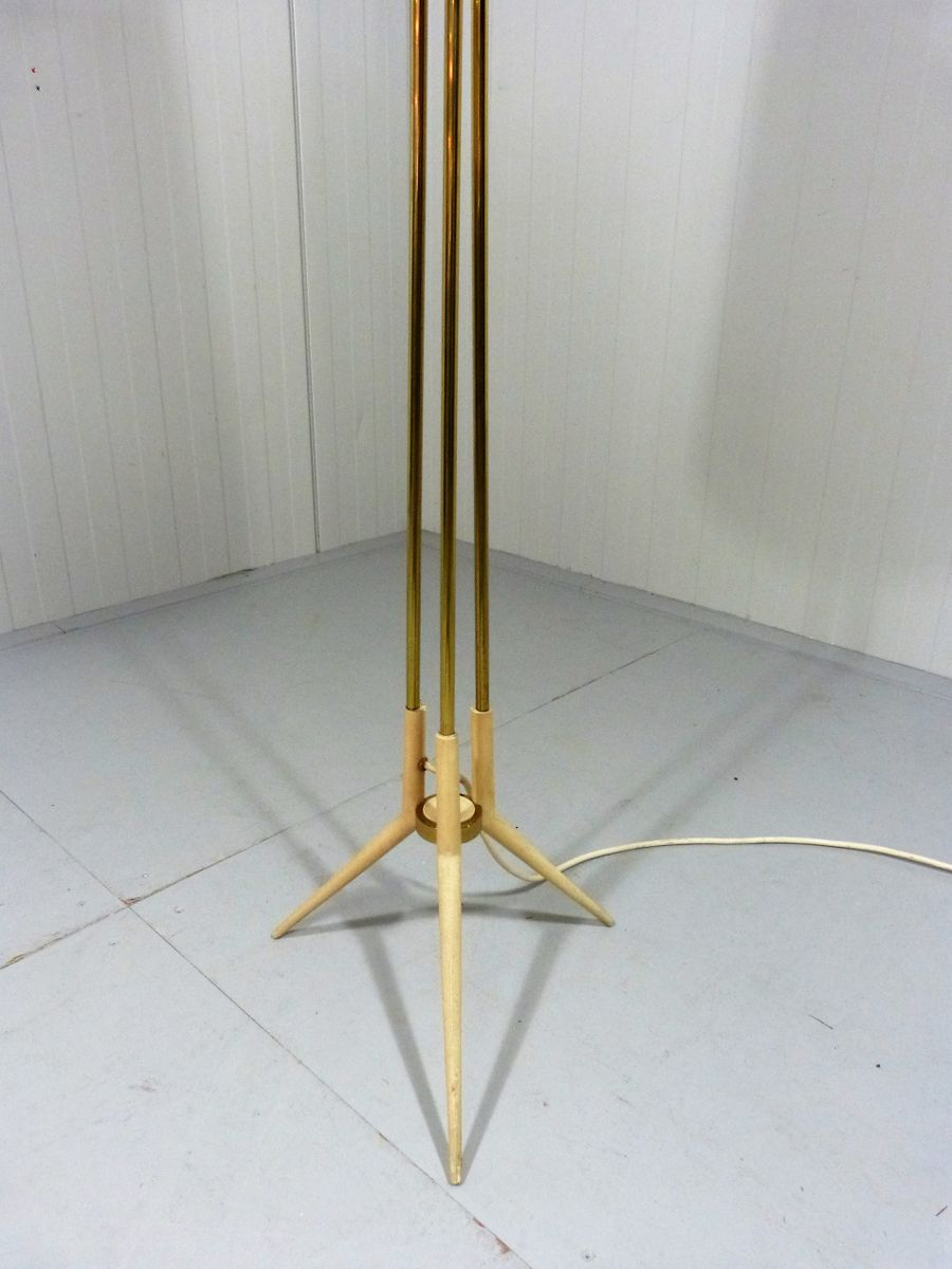 Flower floor lamp 1950s for sale at pamono for 1950 floor lamp