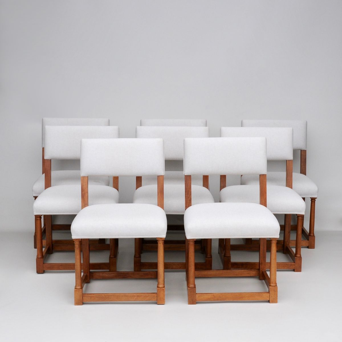 Restaurant Furniture Suppliers In Qatar : French walnut dining chairs s set of for sale at