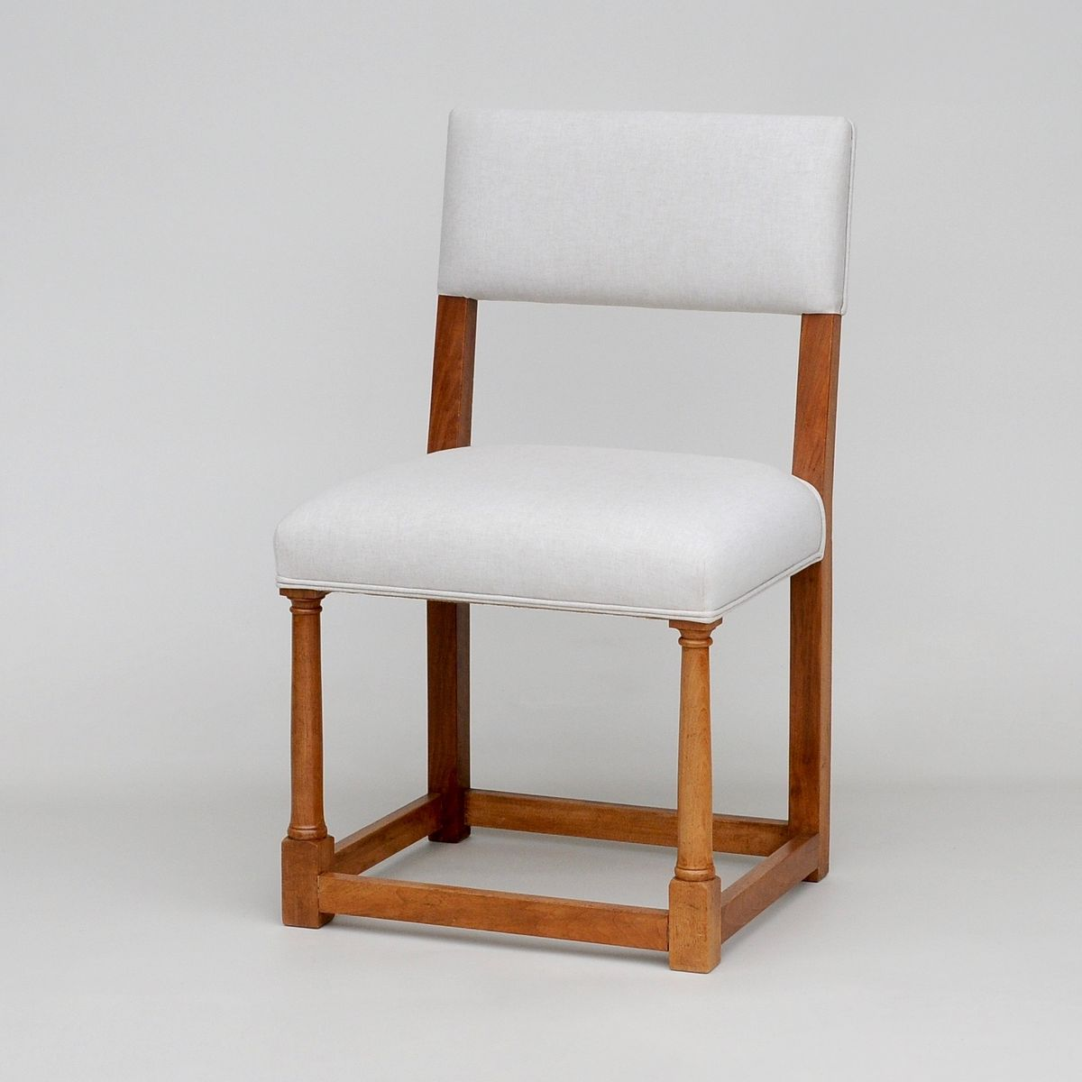 french walnut dining chairs s set of  for sale at pamono - french walnut dining chairs s set of