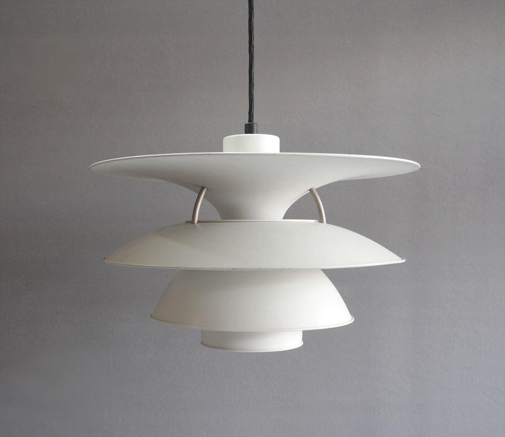 lampe suspension ph 5 4 1 2 charlottenborg vintage par poul henningsen pour louis poulsen en. Black Bedroom Furniture Sets. Home Design Ideas