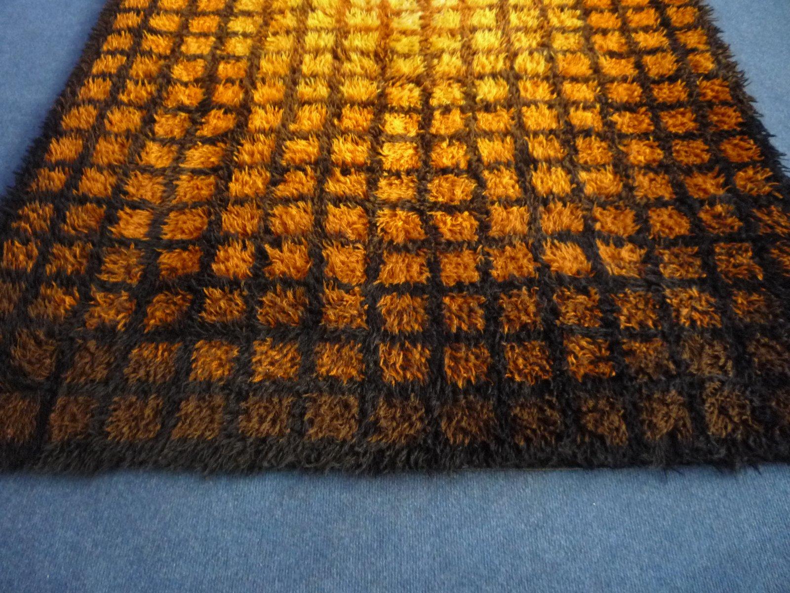 pop art teppich von verner panton f r unika vaev copenhagen 1961 bei pamono kaufen. Black Bedroom Furniture Sets. Home Design Ideas