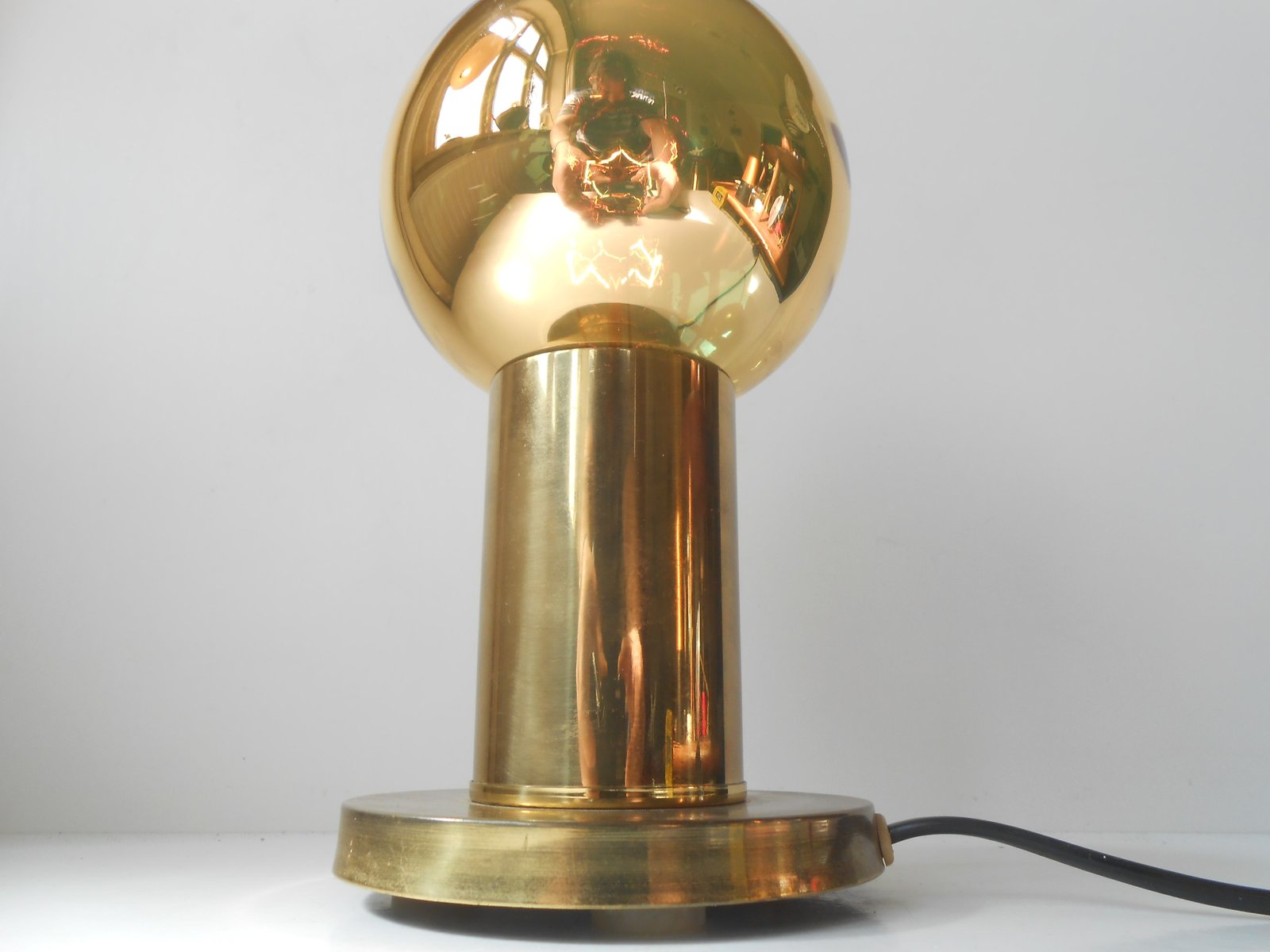 Danish Spy-Ball Table Lamp from Frimann, 1970s for sale at ...