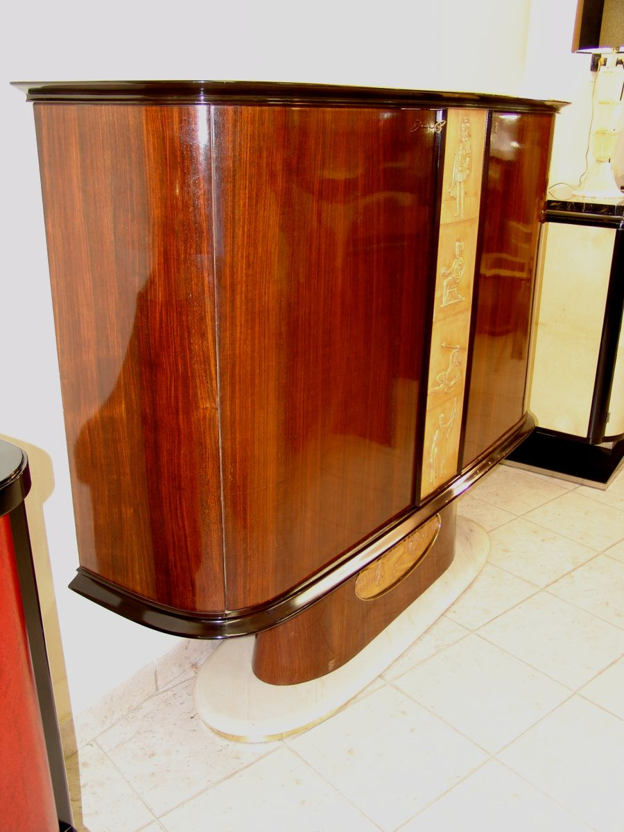 Italian bar cabinet 1940s for sale at pamono for 1940s kitchen cabinets for sale