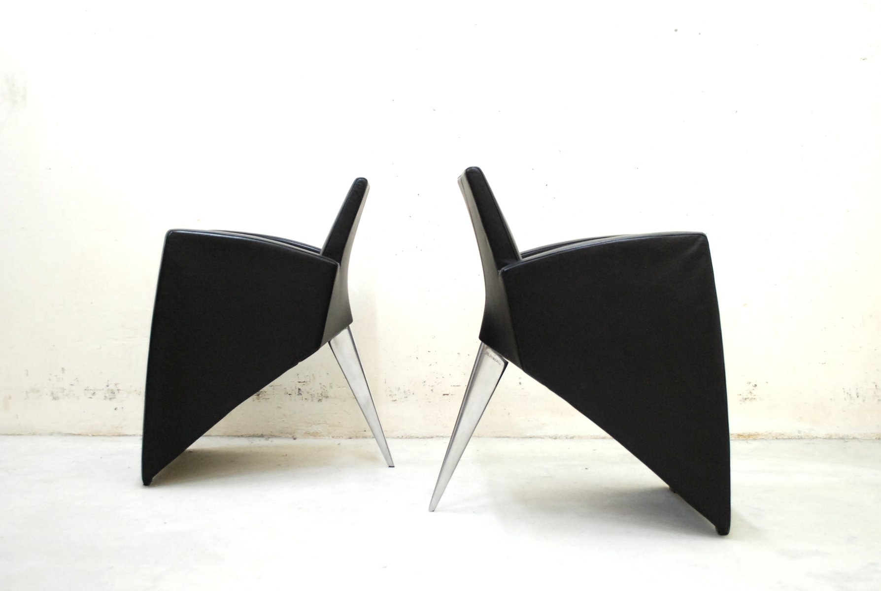 jack lang armchairs by philippe starck for driade aleph. Black Bedroom Furniture Sets. Home Design Ideas