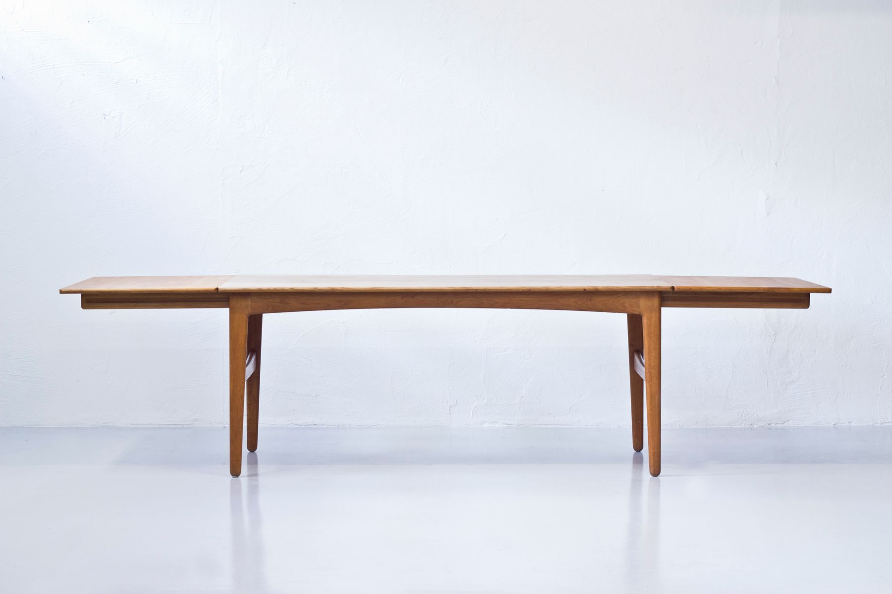 Danish Oak Dining Table By Knud Andersen For J C A Andersen 1950s