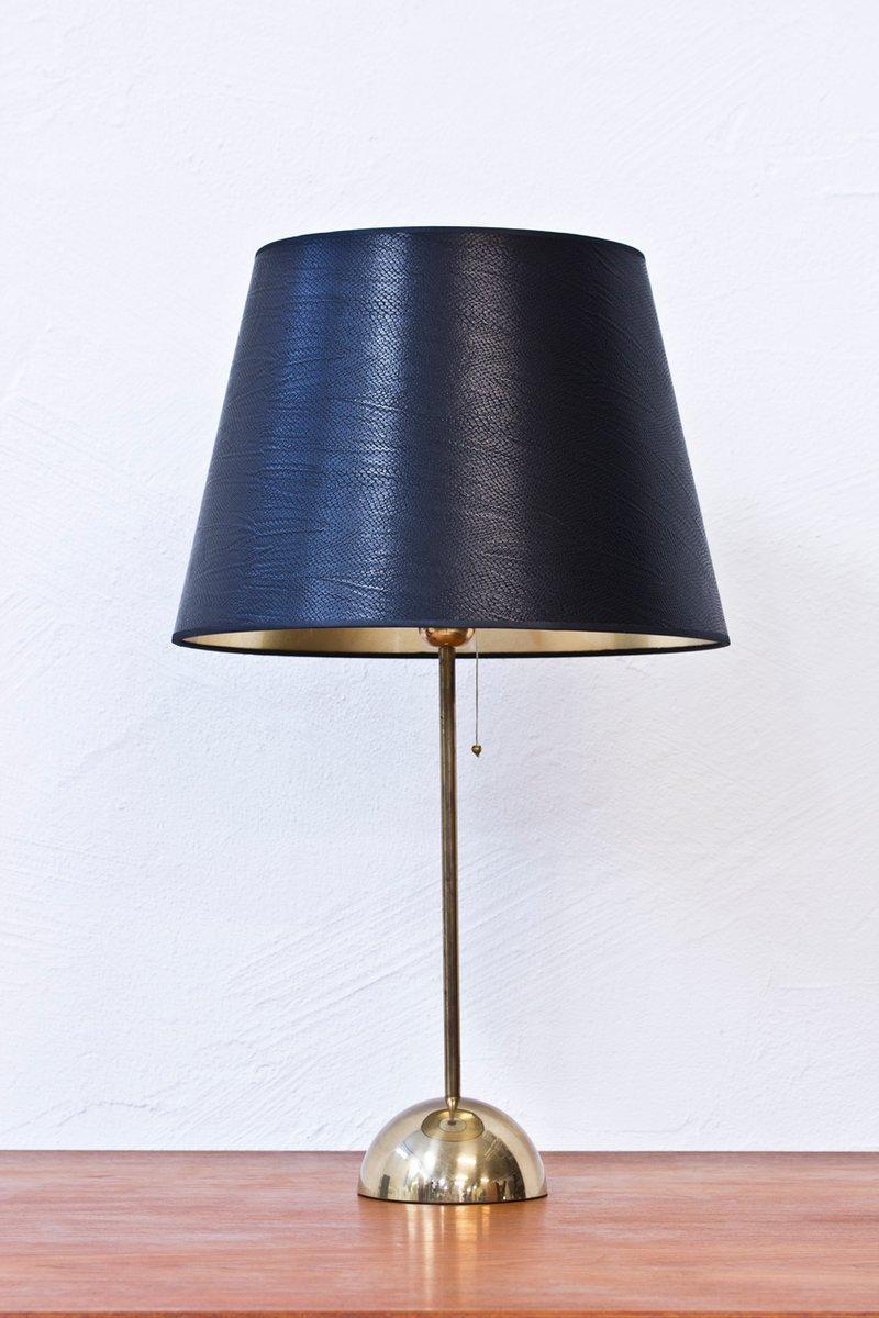 Lampada Da Tavolo In Ottone Di Bergboms Svezia Anni 39 60