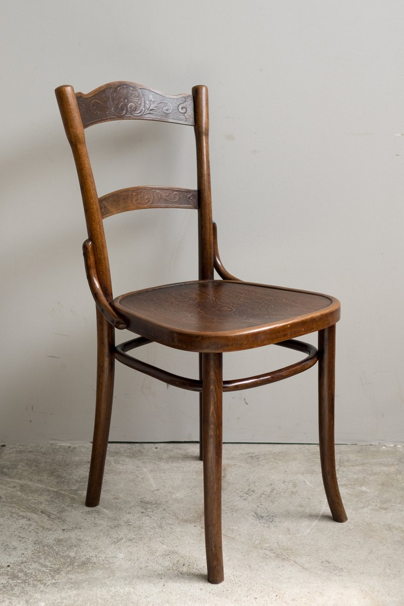 antique bentwood chairs from thonet 1910 set of 6 for sale at pamono. Black Bedroom Furniture Sets. Home Design Ideas