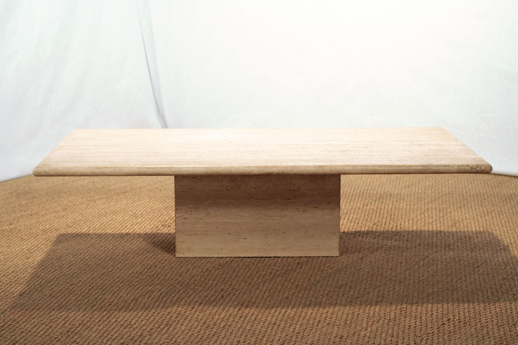 Vintage Travertine Coffee Table For Sale At Pamono - Travertine coffee table