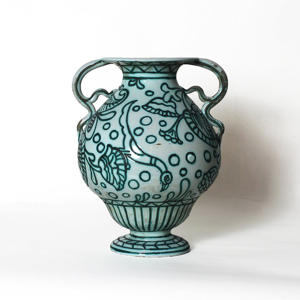 ceramic vase from casa dell arte 1922 for sale at pamono. Black Bedroom Furniture Sets. Home Design Ideas