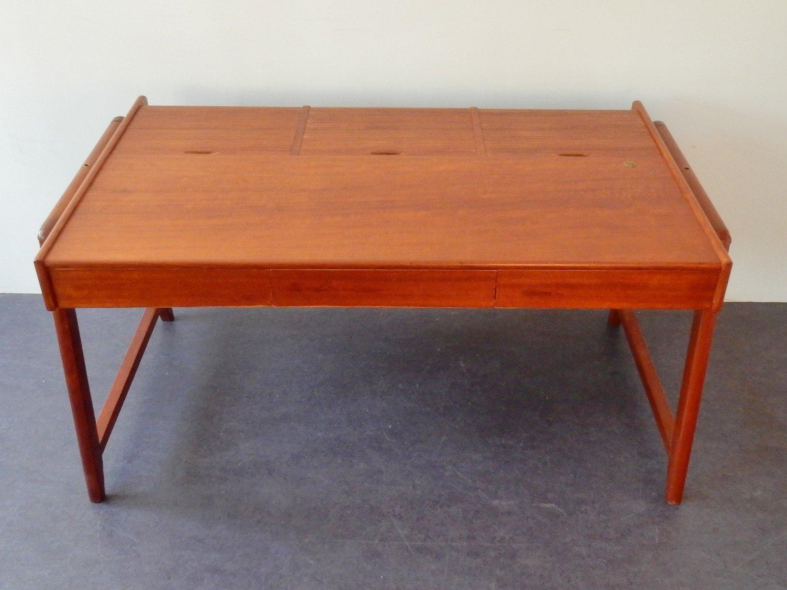 vintage mahogany desk by clausen and maerus - Mahogany Desk