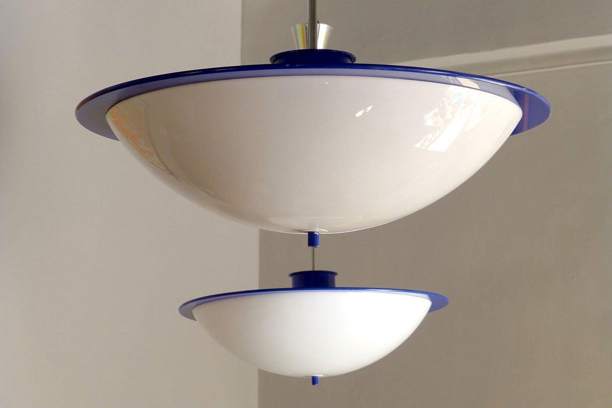 gro e schwedische lampen 1970er 2er set bei pamono kaufen. Black Bedroom Furniture Sets. Home Design Ideas