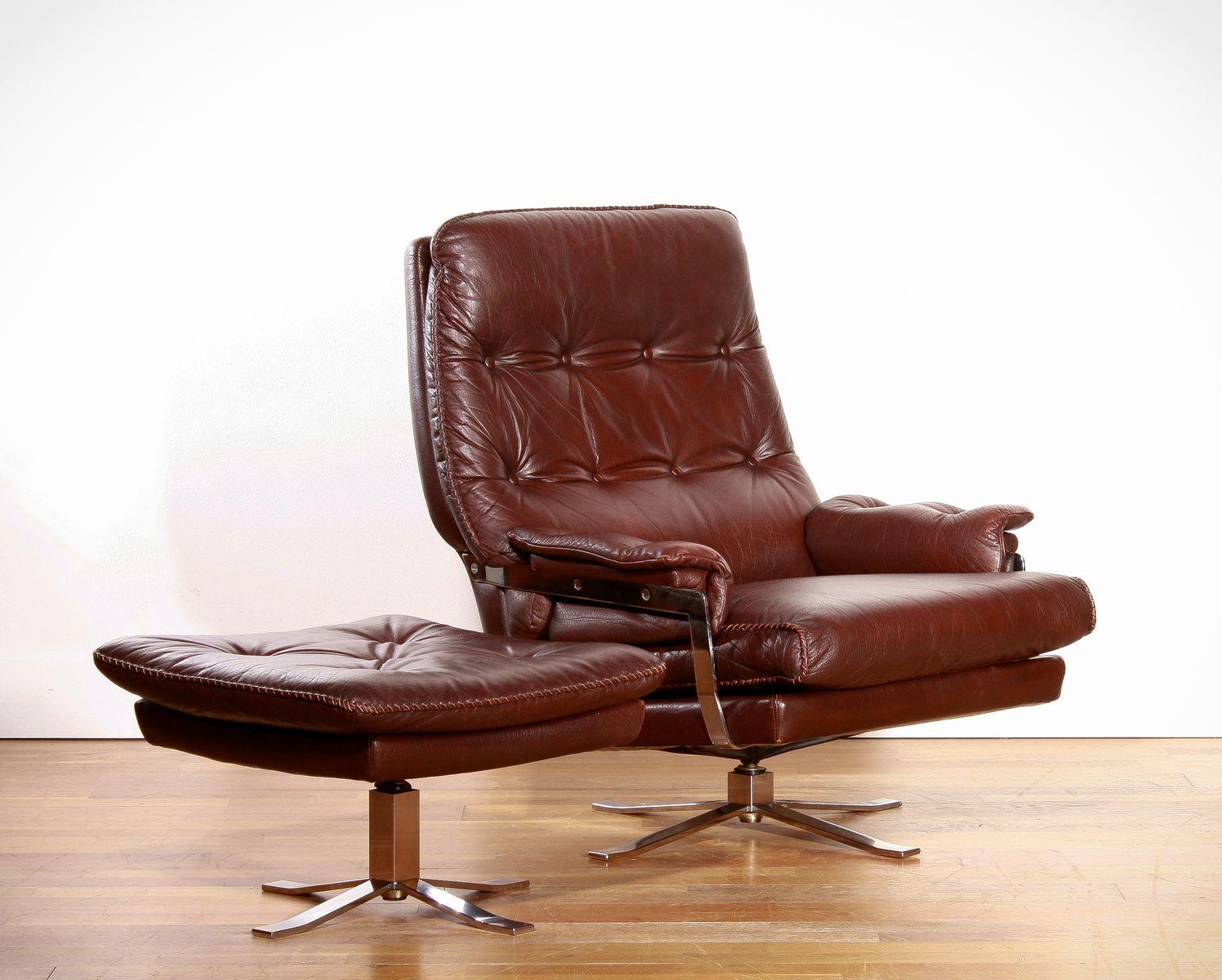 mexa sayulita leather lounge chair