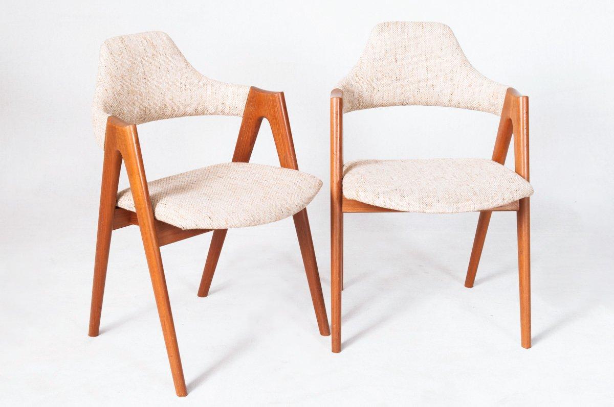 Mid century teak compass chair by kai kristiansen for sva m bler for sale at pamono - Kai kristiansen chair ...