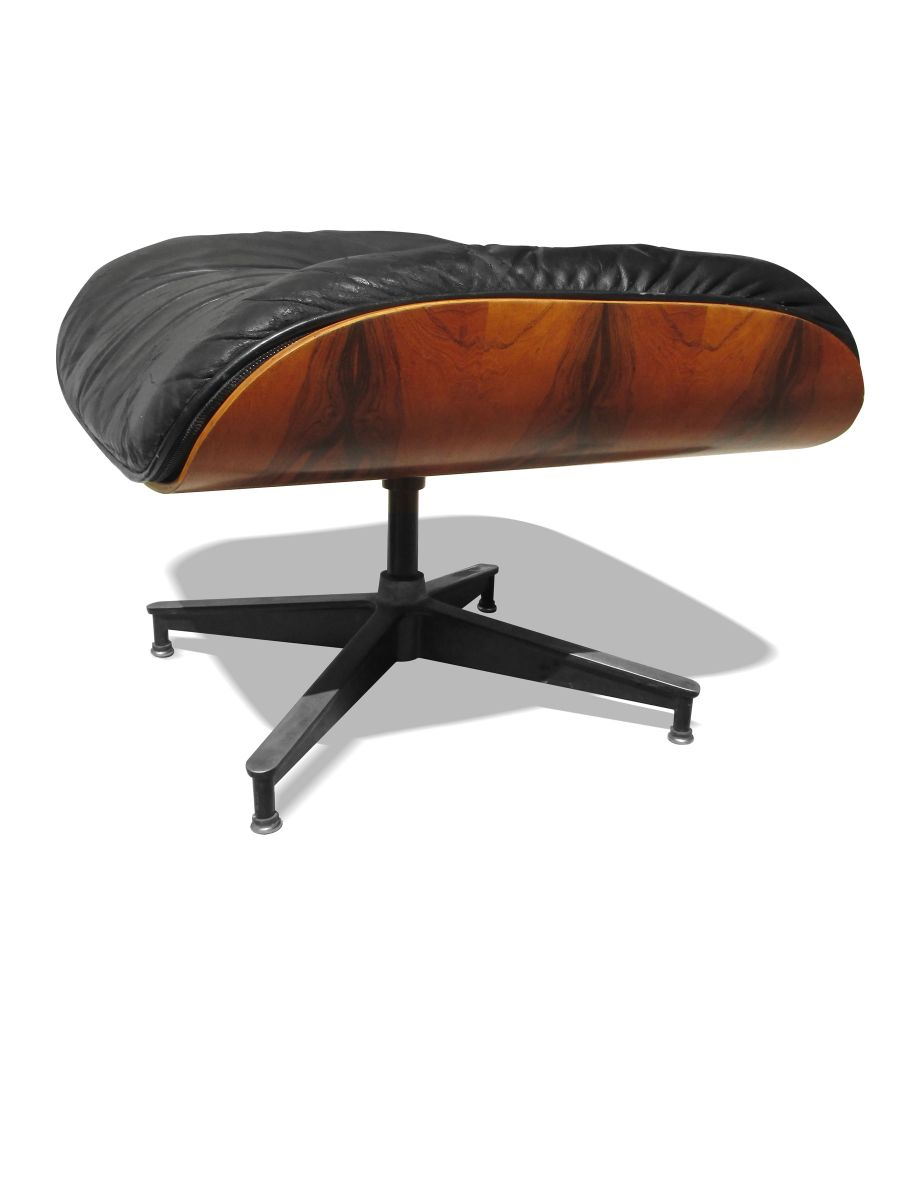 670 671 lounge chair and ottoman by charles and ray eames for Charles eames lounge chair nachbildung
