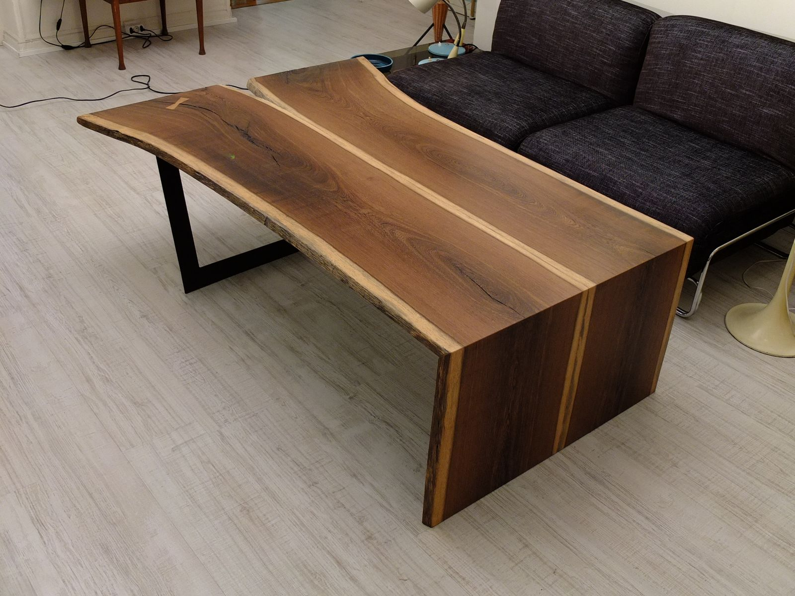 Vintage Massana Wood Coffee Table For Sale At Pamono