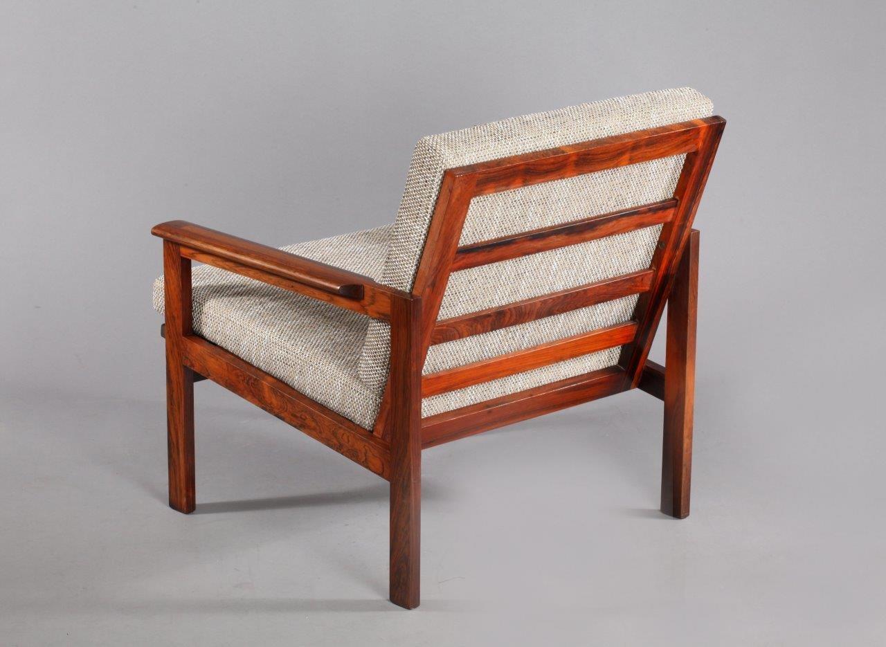 no  rosewood armchairs by illum wikkelsø for niels eilersen  - price per set