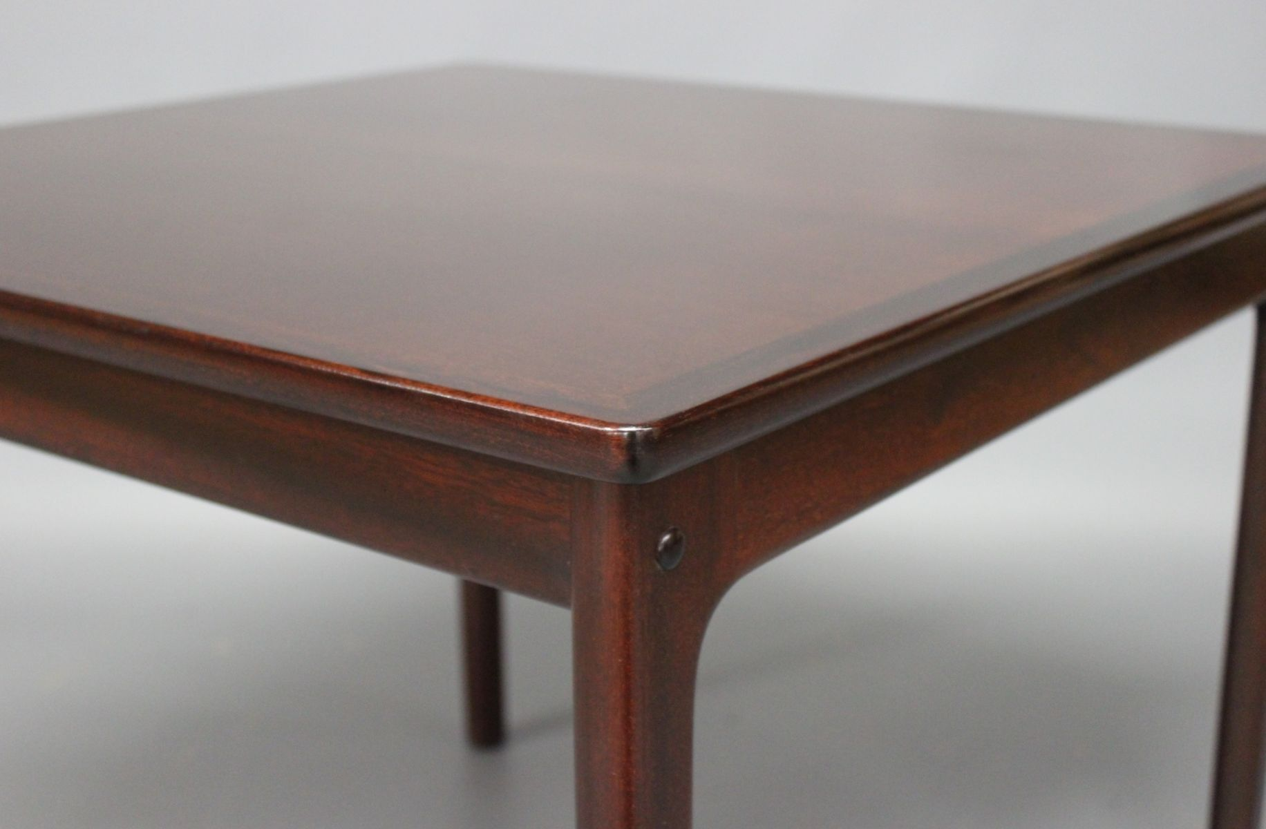 Mahogany Coffee Table by Ole Wanscher for P Jeppesen 1960s for