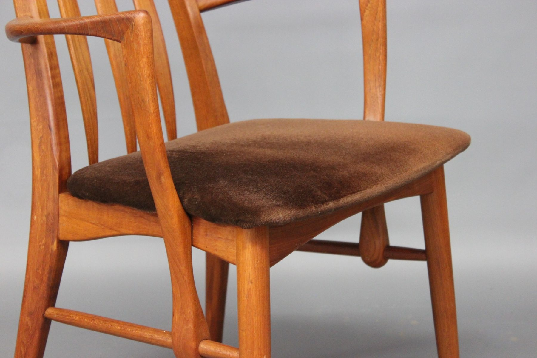 Eva Dining Armchairs by Niels Koefoed 1960s Set of 2 for sale at