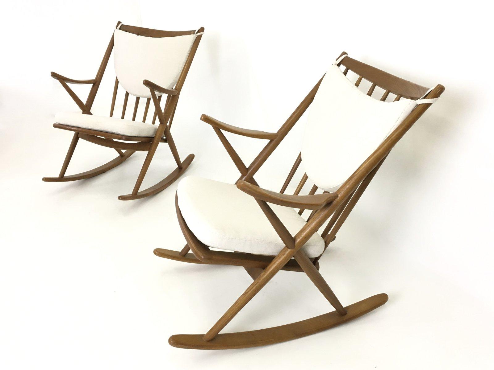 Frank reenskaug rocking chair - Price 2 172 00 Regular Price 2 613 00