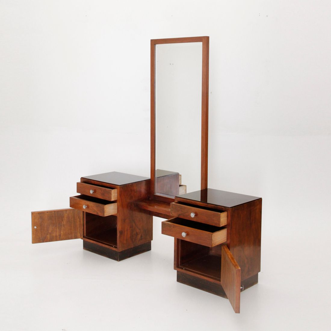Dressing table and mirror 1950s for sale at pamono for Vanity table and mirror for sale
