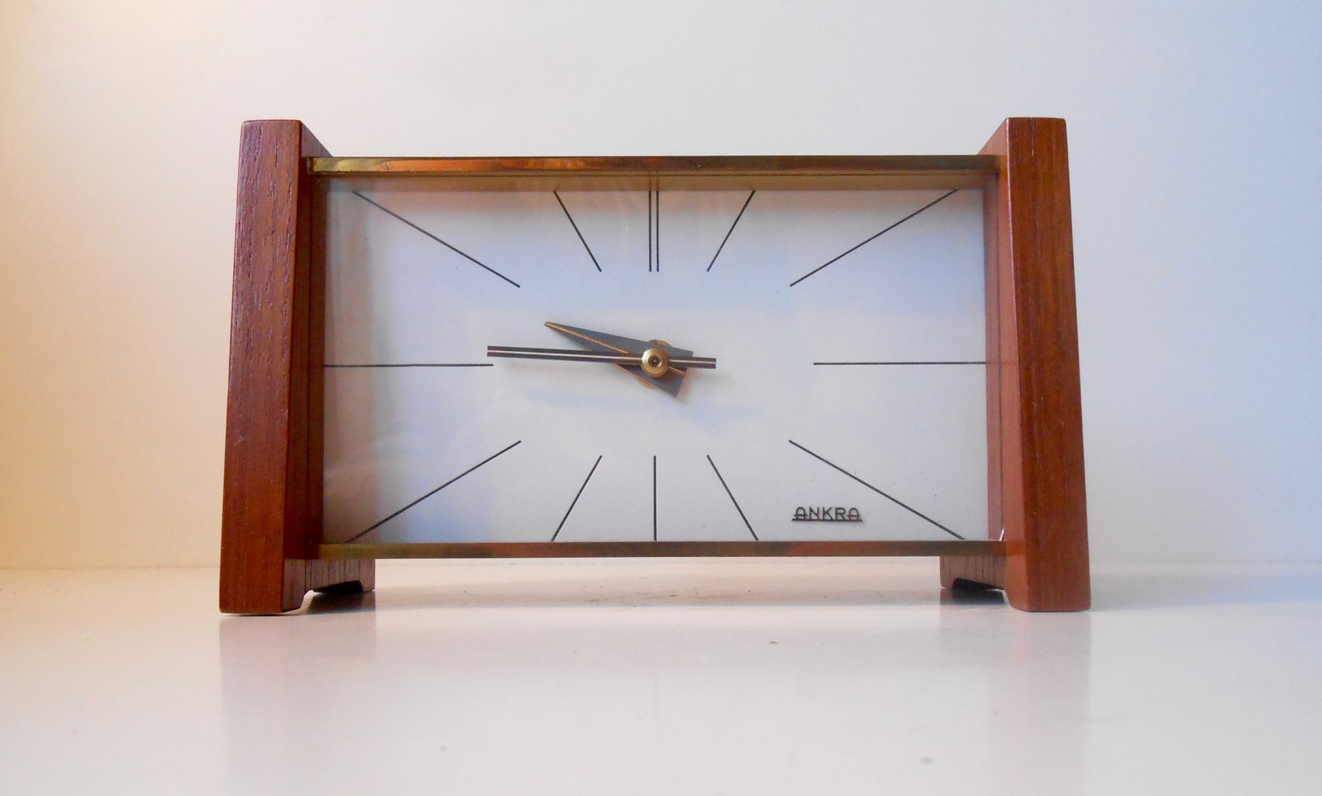 midcentury modern table clock from ankra for sale at pamono - price  regular price