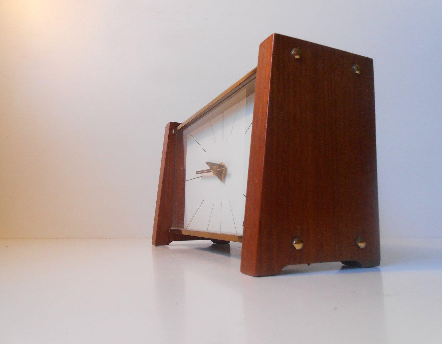 mid century modern tischuhr von ankra bei pamono kaufen. Black Bedroom Furniture Sets. Home Design Ideas