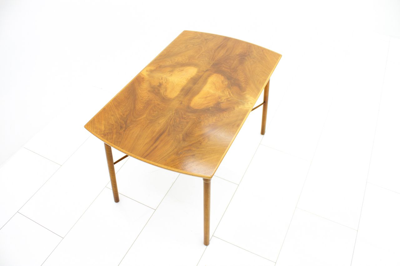 Coffee Table By Ole Wanscher For Fritz Hansen 1940s For Sale At Pamono