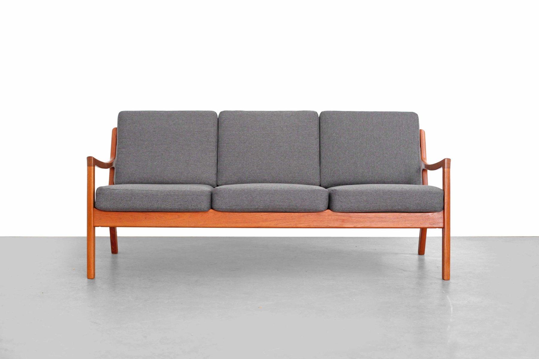 teak senator sofa by ole wanscher for france s n for sale at pamono. Black Bedroom Furniture Sets. Home Design Ideas