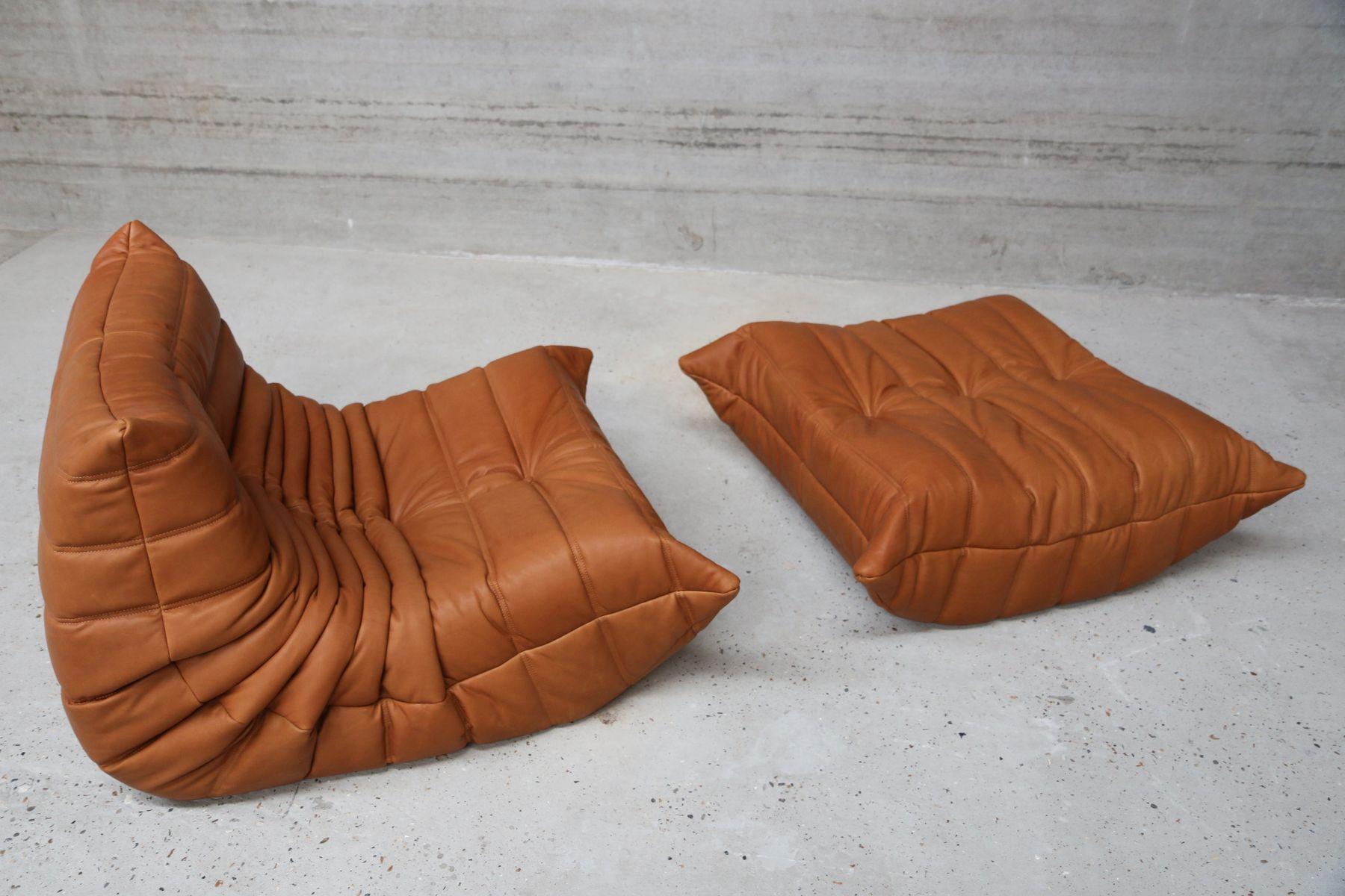 vintage togo living room set by michel ducaroy for ligne roset en vente sur pamono. Black Bedroom Furniture Sets. Home Design Ideas