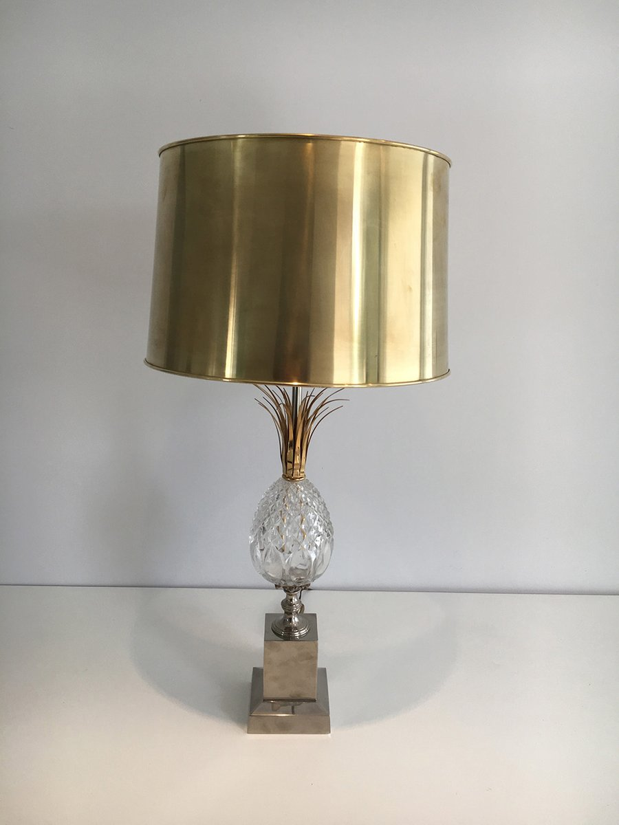 Glass Pineapple Table Lamp 1960s For Sale At Pamono