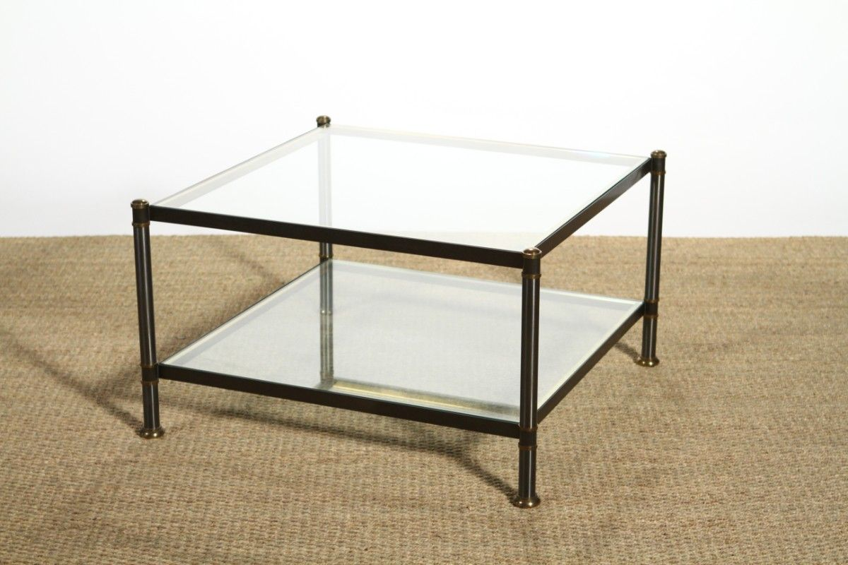 Vintage Coffee Table from Maison Charles for sale at Pamono