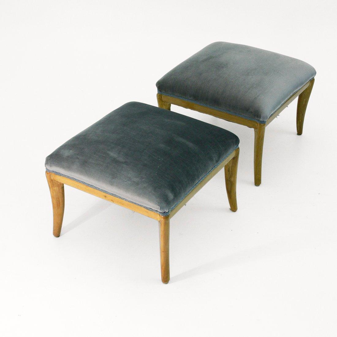 Modernist Poufs 1950s Set Of 2 For Sale At Pamono