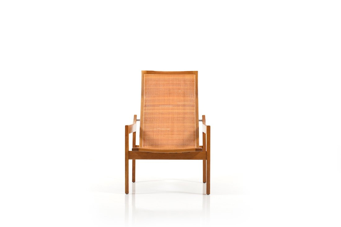 Mid century danish oak lounge chair 1950s for sale at pamono for Z chair mid century
