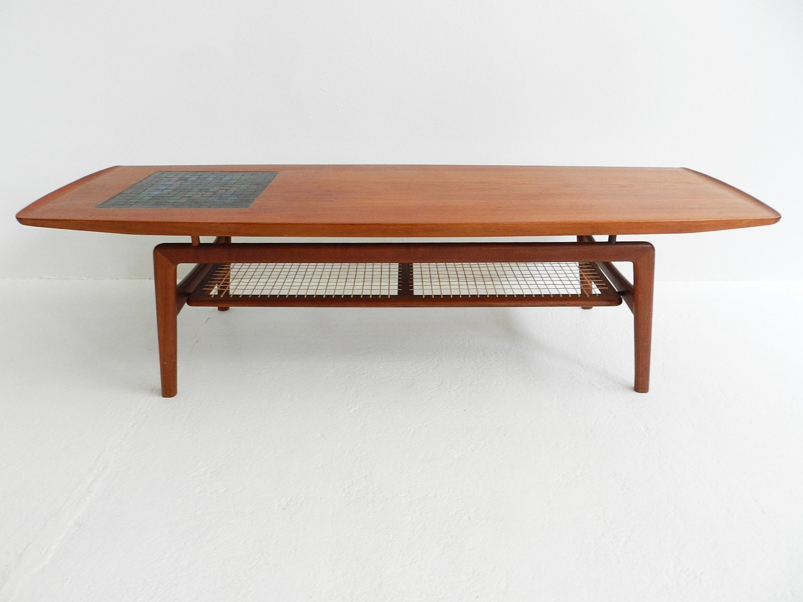 Mosaic Coffee Table by Arne Hovmand Olsen for Mogens Kold for sale