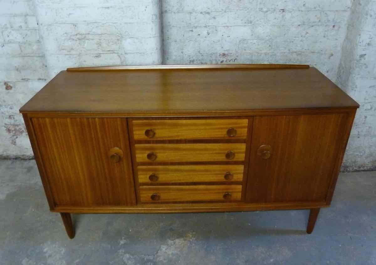 mid century sideboard by gordon russell for sale at pamono. Black Bedroom Furniture Sets. Home Design Ideas