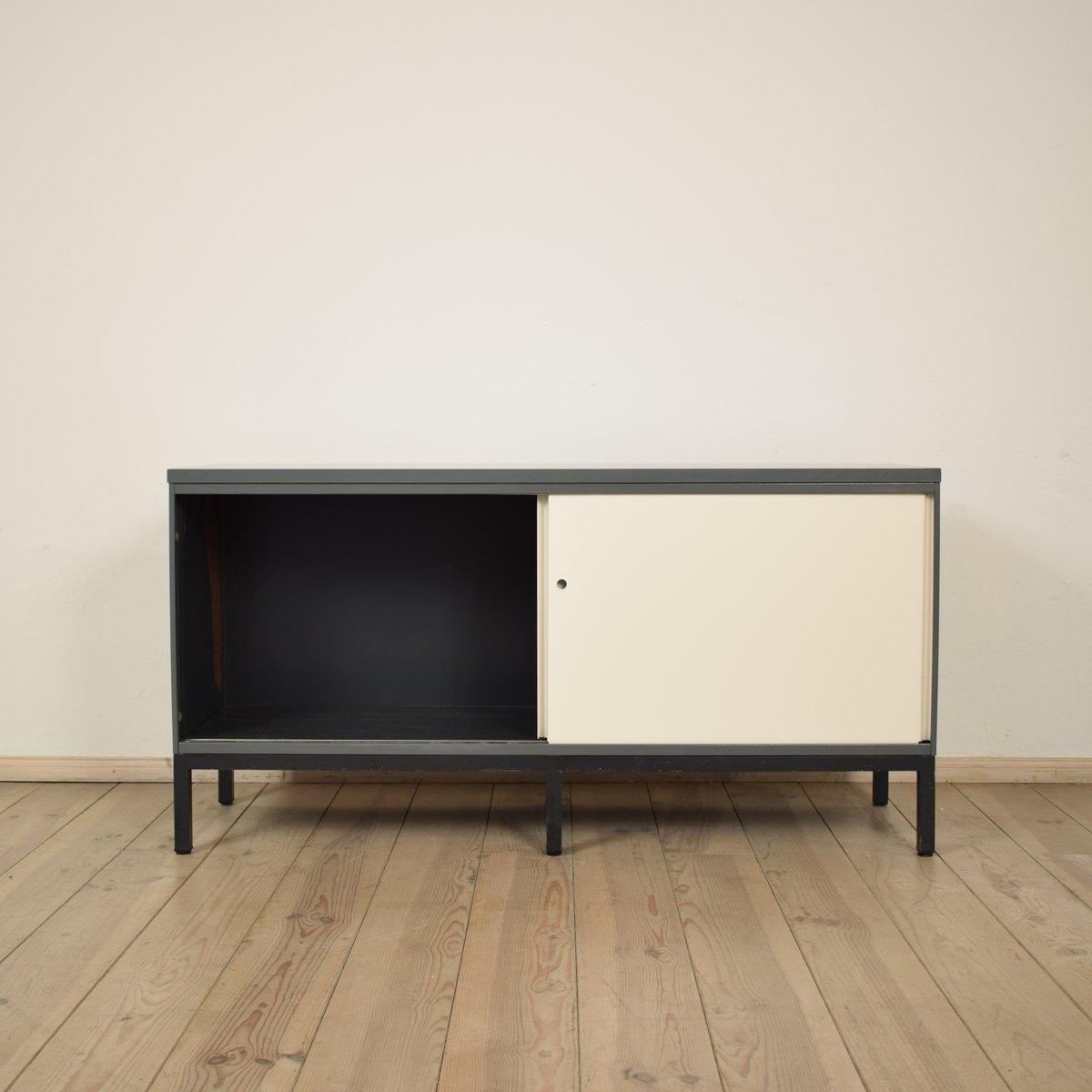german metal sideboard 1970s for sale at pamono. Black Bedroom Furniture Sets. Home Design Ideas