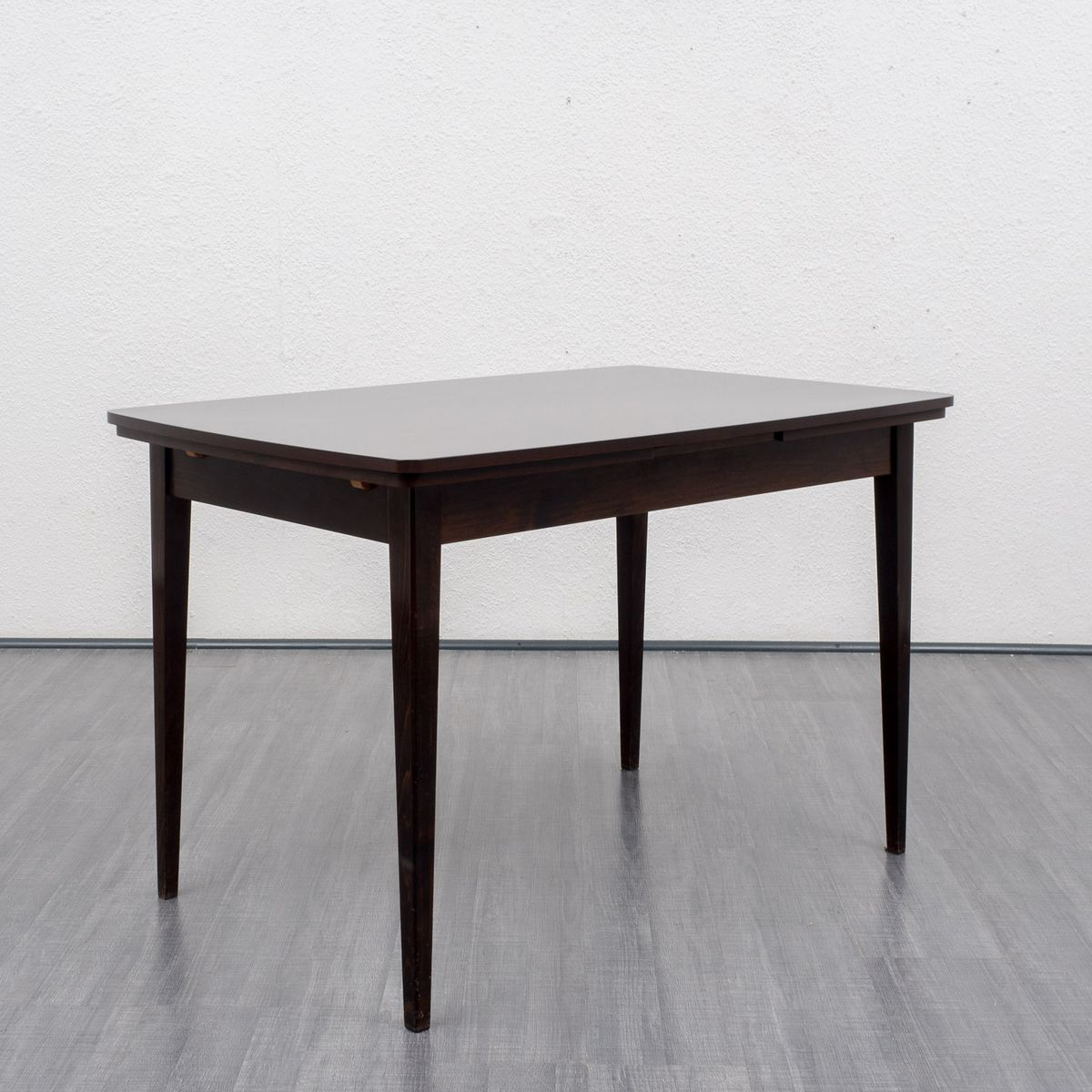 Ausziehbarer vintage buchenholz tisch 1960er bei pamono for Ausziehbarer tisch