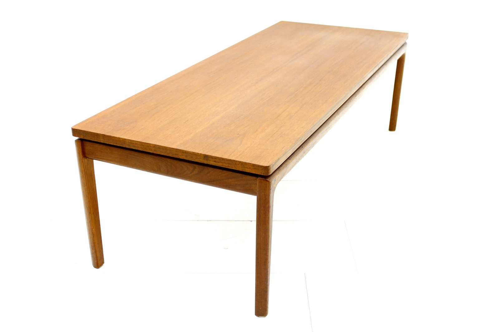 Danish Teak Coffee Table By Ole Wanscher For France Son 1960s For Sale At Pamono